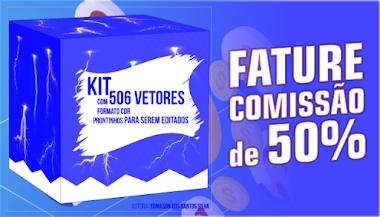 Kit 506 vetores no formato CDR - AFILIE-SE, VENDA E GARANTA SEUS GANHOS