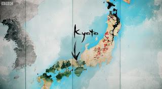 Japan Map - Kyoto