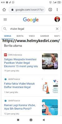 berita tentang Vtube sebagai bisnis ilegal