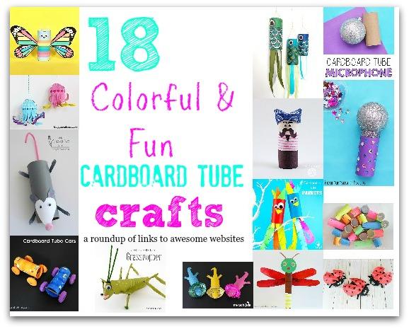 Heartfelt Balance Handmade Life 18 Colorful Fun Cardboard Tube