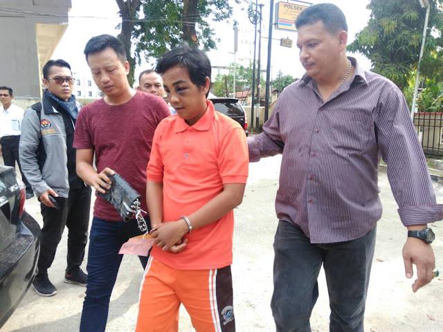 Jambret Untuk Bayar Kontrakan, Krisna Dikeroyok Warga