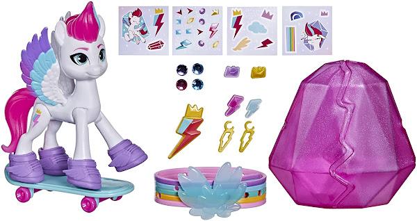 Zipp Storm Crystal Adventure Set My Little Pony G5 Merchandise