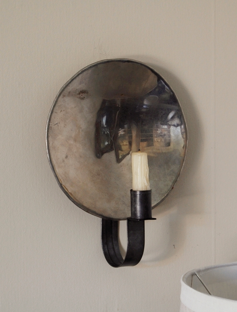 Handmade Mirrored Sconce & Frog Goes to Market: Handmade Mirrored Sconce