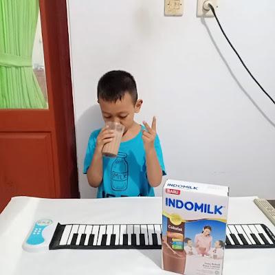 Indomilk Susu Bubuk untuk Usia anak 5 sampai 12 tahun