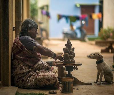 village old lady