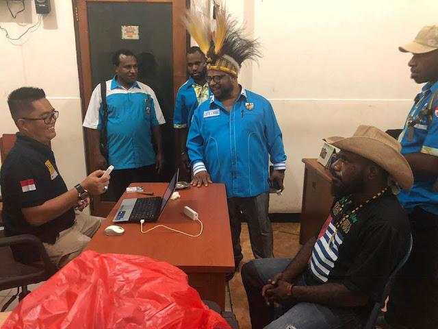KNPB Tolak Kehadiran Ketua KNPI Papua di Polres Jayapura Kota