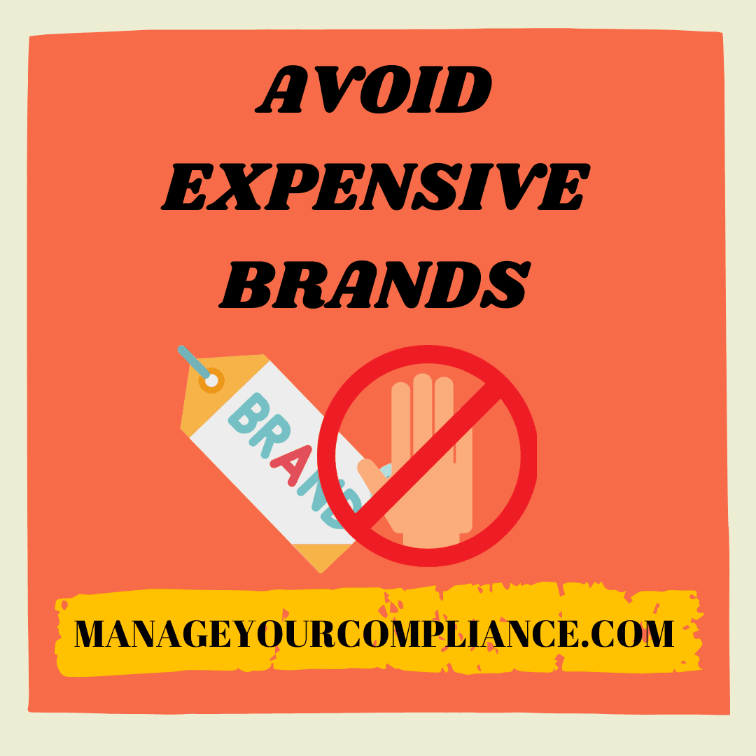 Avoid expensive brands is one of the most important step to manage your finance both in normal as well as in pandemic situation.