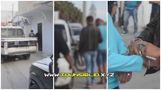 (بالصور) جربة :مداهمة أمنية و القبض على شخص قام بتمجيد حادثة قطع الرأس بفرنسا