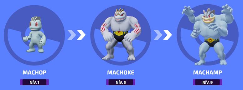 Pokémon Unite - Evolução de Machamp