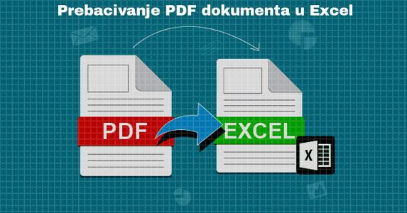 Besplatna alatka za pretvaranje PDF-a u Excel
