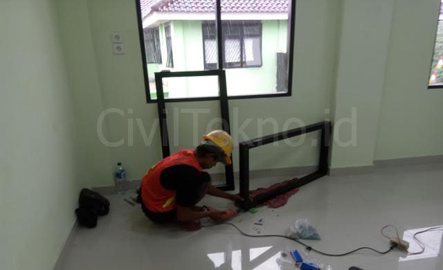 Metode Pelaksanaan Pekerjaan Pemasangan Pintu dan Jendela
