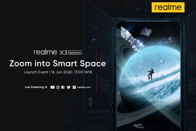 Realme X3 SuperZoom Segera Hadir di Indonesia
