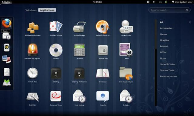 Distribusi Linux fedora