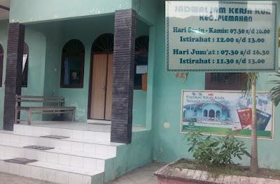 Jam Buka dan Tutup kantor Urusan Agama