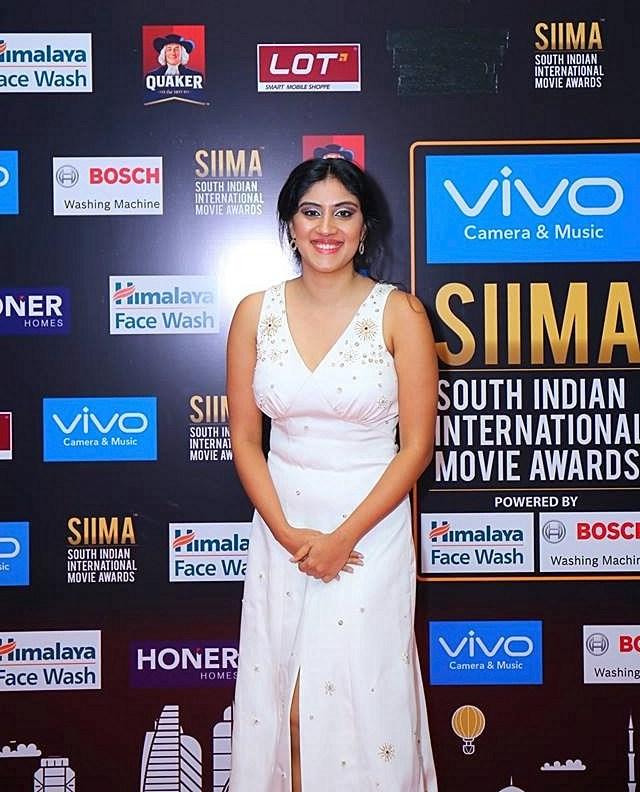 Actress Dhanya Balakrishna Photos At SIIMA Awards 2017
