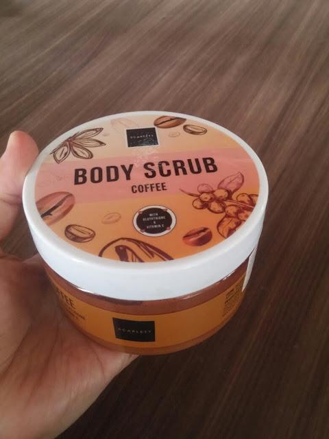 body scrub kopi