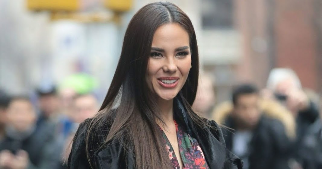 Miss Universe Catriona Gray Outside Build Studio In Nyc ...