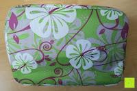 Muster: Aosbos Wasserdichte Lunch Tasche Isolierte Thermo Picknicktasche für Lebensmitteltransport(Grün Blumen)