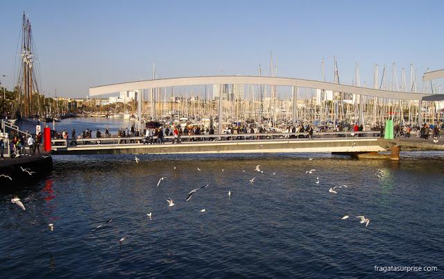 Rambla del mar, Barcelona