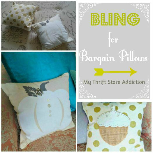 Upcycle bargain pillows
