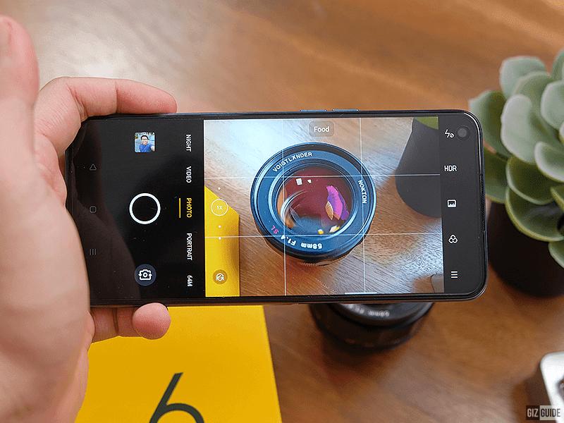 Rear camera app