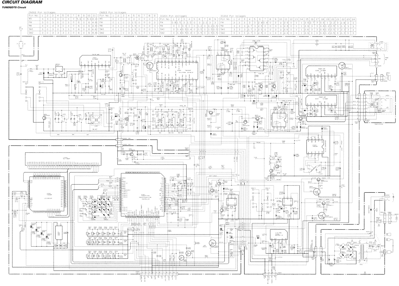 Electro Help 05 16 Is A Typical Application And Example Wiring Diagram Using The Pc1002 Circuit Schematic