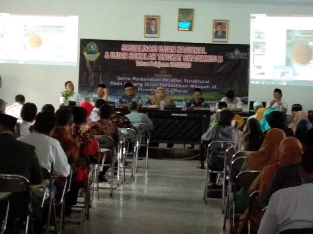 SMK Siap Dukung Progam  Pejabat Struktural Baru KCD