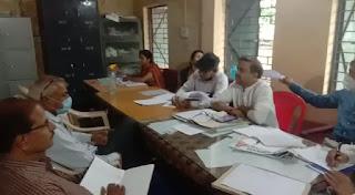 जनपद शिक्षा केन्द्र बड़वाह में बैठक आयोजित
