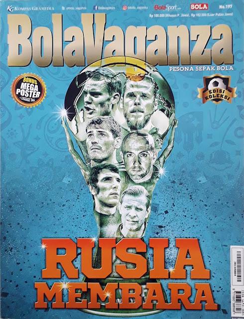 MAJALAH BOLA VAGANZA: RUSIA MEMBARA (EDISI KOLEKSI)