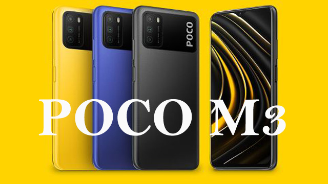 Poco M3 Price in India, Equip with Triple Rear Camera 4 GB RAM