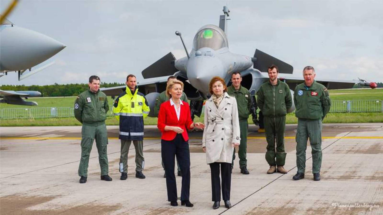 Jerman dan Prancis menandatangani kontrak untuk membuat pesawat tempur generasi keenam