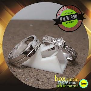 cincin kawin paladium P67D