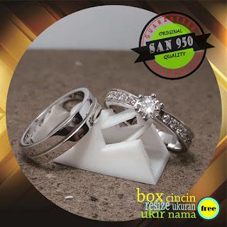 cincin perak palladium platina emas