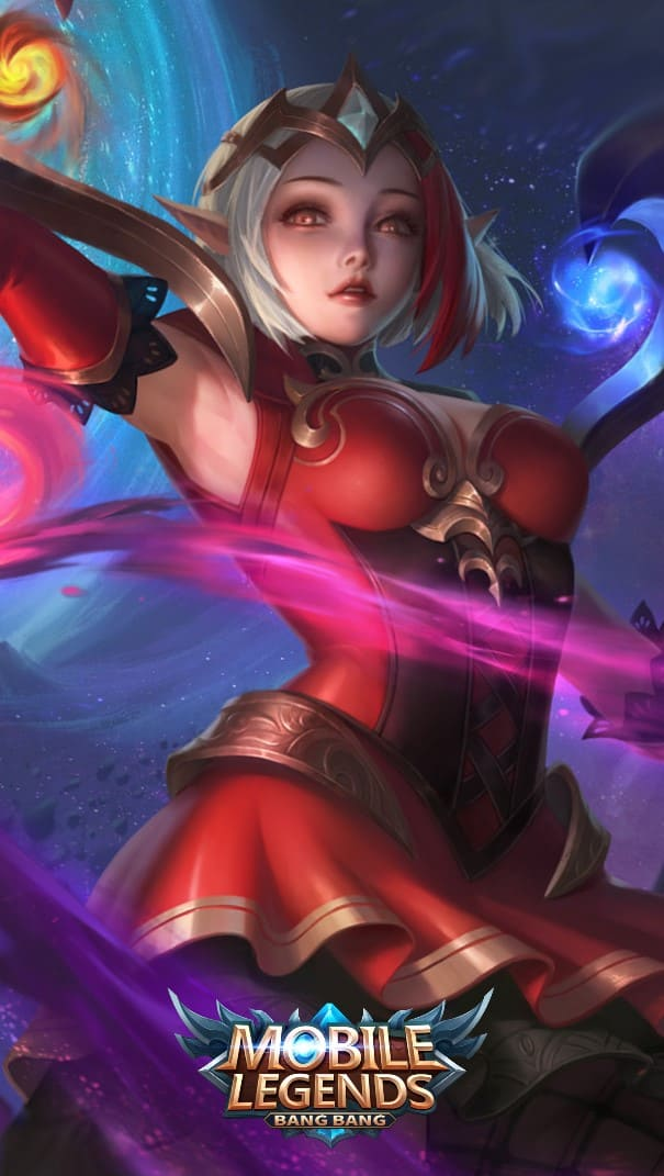 Wallpaper Lunox Bloody Mary Skin Mobile Legends Full HD for Android and iOS