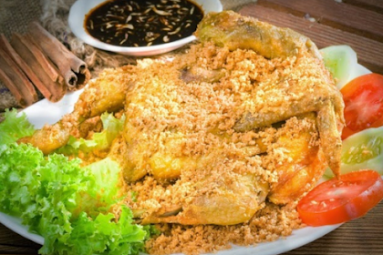 Kalasan Fried Chicken Recipe