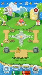 Membangun Kingdom di Super Mario Run