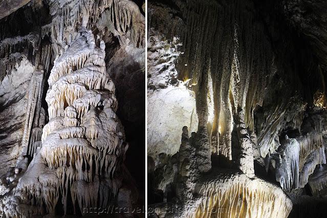 Caves of Han Stalactites Stalagmites