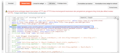 Cara Daftar Dan Verifikasi Website di Google Webmaster Tools