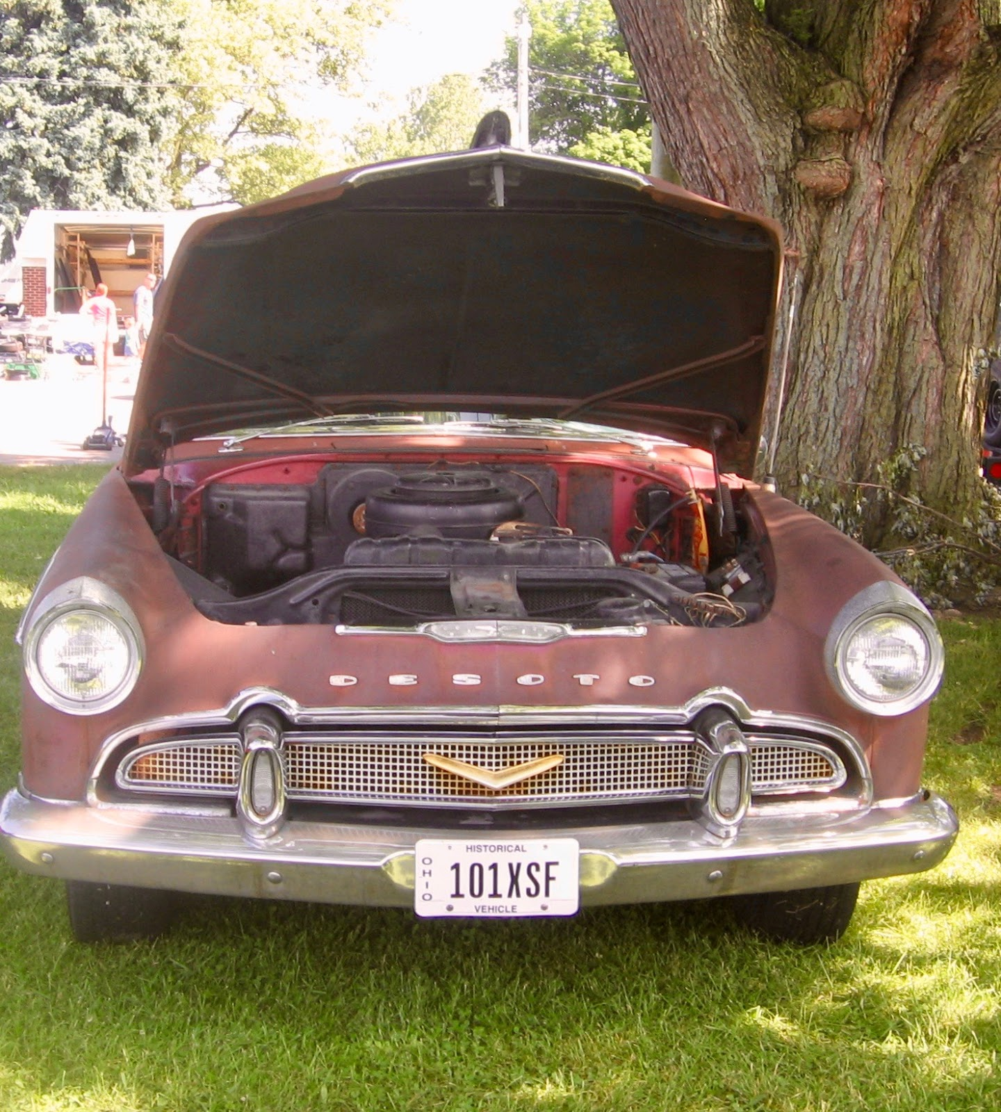 The Automobile And American Life DeSoto Do You Restore Or - Restore a muscle car car show