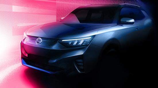 국내 최초 준중형 SUV 전기차 쌍용 E100 티저 이미지 공개
