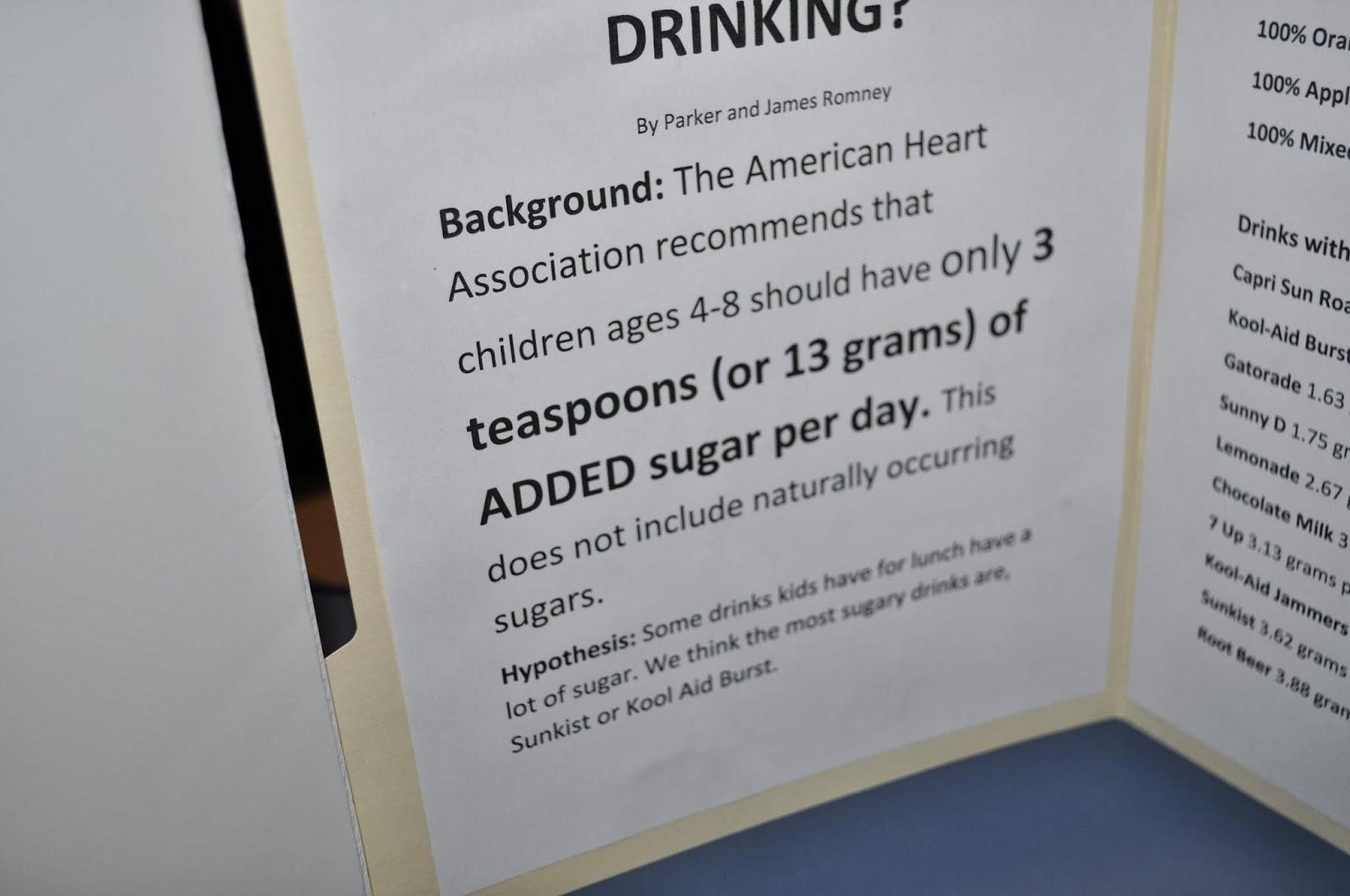 Mom Explores Michigan Science Fair Fun How Much Sugar Is