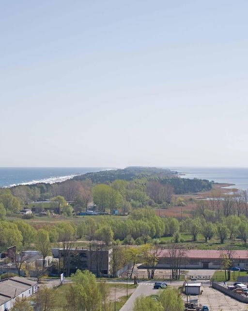 Widok na okolice z Domu Rybaka, Władysławowo