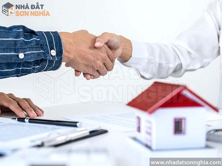 Cam kết bán/cho thuê được nhà trong thời gian sớm nhất