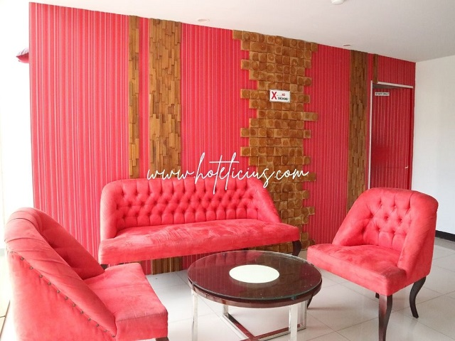 Living Room Hotel Budget in Jogja