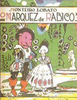 O Marquez de Rabicó. Monteiro Lobato. Editora Monteiro Lobato & Cia (São Paulo-SP). 1922 (1ª edição). Capa e ilustrações de Voltolino (Lemmo Lemmi).