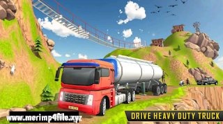Heavy Euro Truck Transport Simulator - Offroad Truck Driving 3D - Android