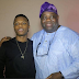 Dele Momodu shared a photo with Wizkid and a follower had this to say