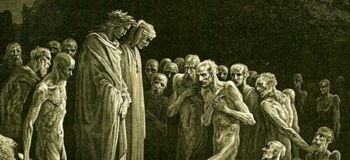 literatura capixaba espirito santo almas purgatorio dante pandemia gustave dore igreja estado filosofia