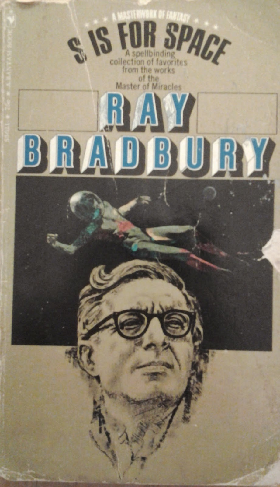 Ray Bradbury - S Is For Space book cover