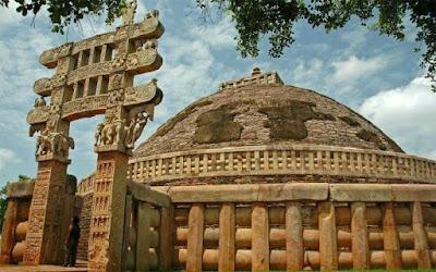 Sanchi-Stupa-Image